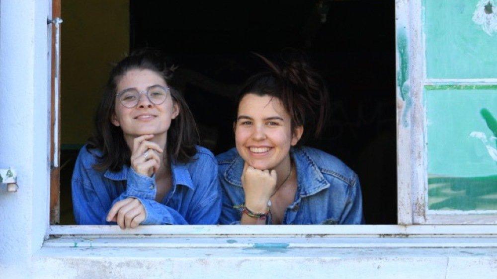 Luise Steinhaus et Anne-Julie Bourgeois vont faire revivre la Maison des jeunes ce samedi le temps d'une exposition.