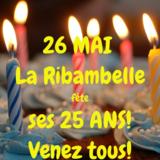 La Ribambelle fête ses 25 ans! Fêtez avec nous!