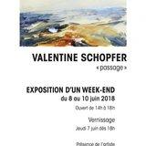 Exposition peinture de Valentine Schopfer