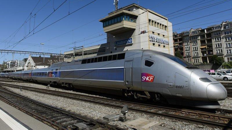 Grève à la SNCF: sept TGV vers la Suisse circuleront dimanche