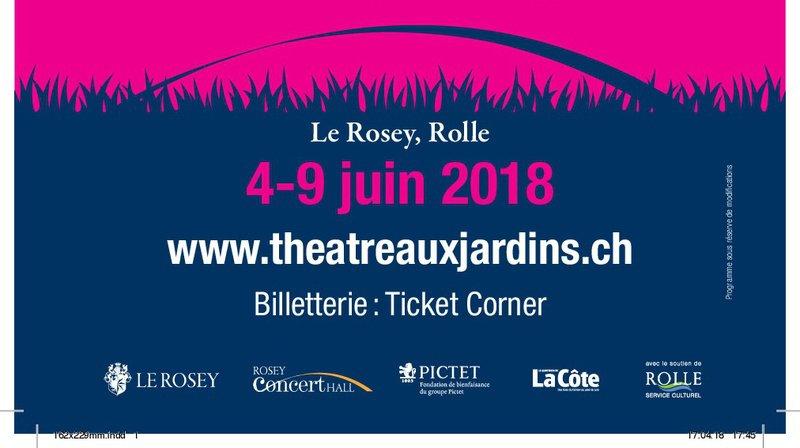 Festival de Théâtre aux Jardins du Rosey