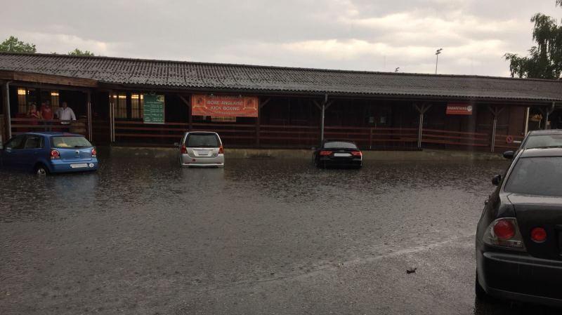 Morges: 10 inondations en vingt minutes