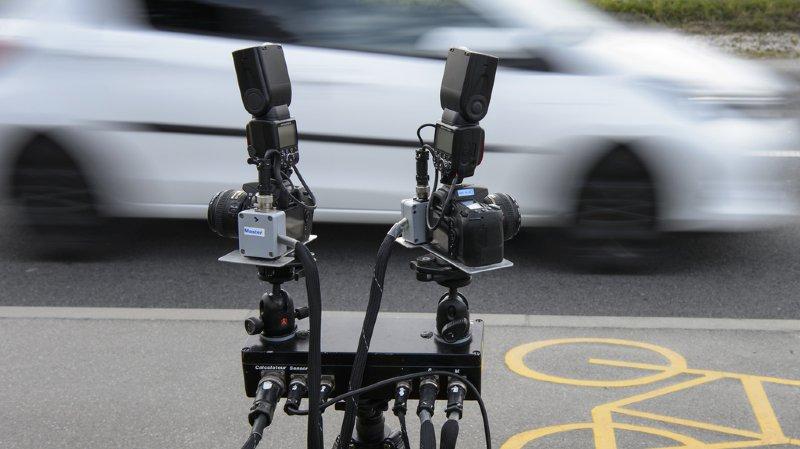 Sur une route limitée à 80 km/h, une vitesse supérieure à 140 km/h entre dans la catégorie du délit de chauffard. (illustration)