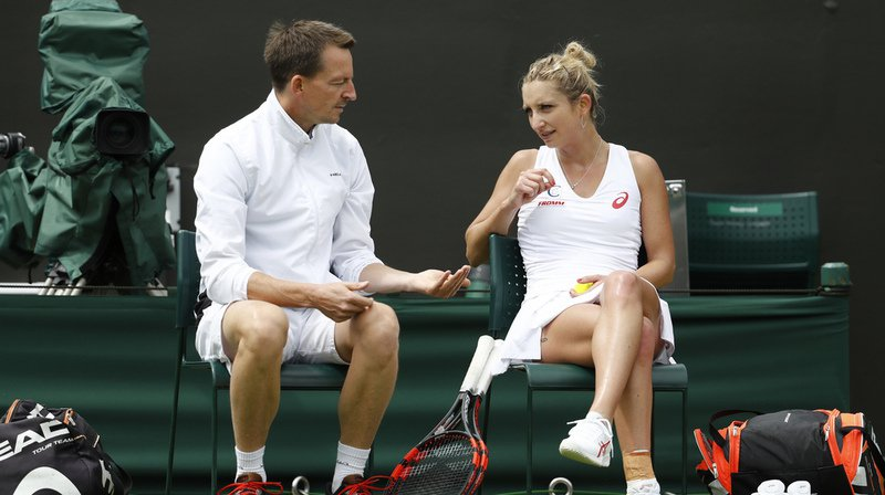 Timea Bacsinszky et son entraîneur se séparent d'un commun accord. (Illustration)