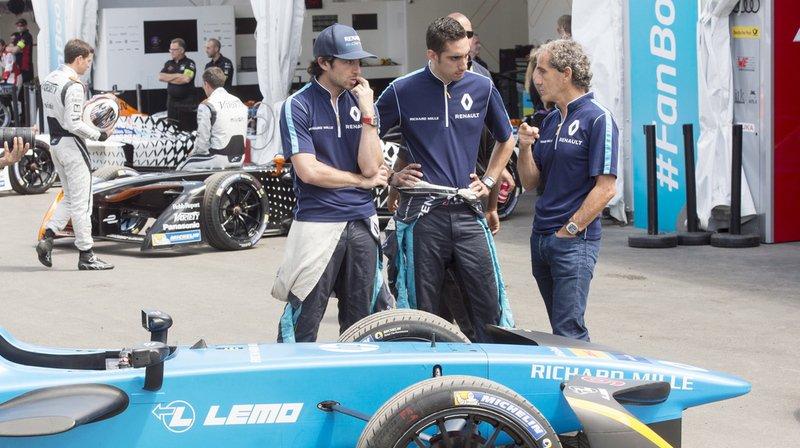 Formule E: Alain Prost quitte l'écurie du Vaudois Sébastien Buemi pour se consacrer à la Formule 1