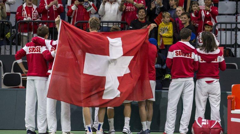 La Suisse recevra la Suède à Bienne lors des barrages de Coupe Davis du 14 au 16 septembre. (illustration)