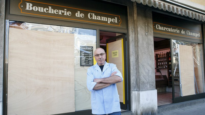 A Genève, les attaques de boucheries par des militants de la cause animale se multiplient depuis mi-avril.