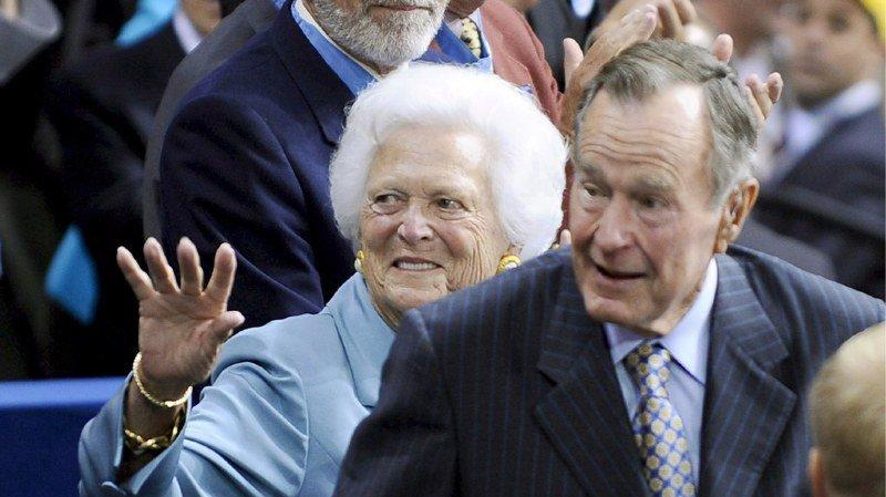 Etats-Unis: Barbara Bush, mère et femme de présidents, s'éteint à 92 ans