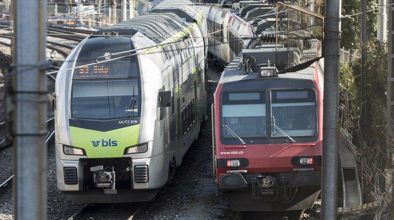 Transport ferroviaire: fin du monopole des CFF, le BLS obtient deux lignes Interregio