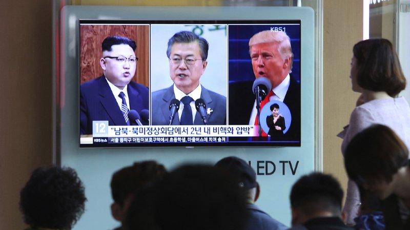 Le sommet entre M. Kim et le président sud-coréen sera le point d'orgue de l'effervescence diplomatique qui s'est emparée de la région depuis les jeux Olympiques d'hiver organisés au Sud. Il sera aussi le prélude d'un sommet historique très attendu entre M. Kim et le président américain Donald Trump.