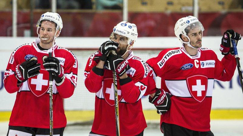 Hockey sur glace: la Suisse s'est envolée à Copenhague sans Thomas Rüfenacht