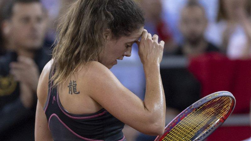 Tennis - Fed Cup: 3e défaite, les Suissesses reléguées