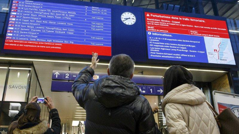 CFF - Horaire 2019: moins de trains nocturnes en semaine au départ de Lausanne