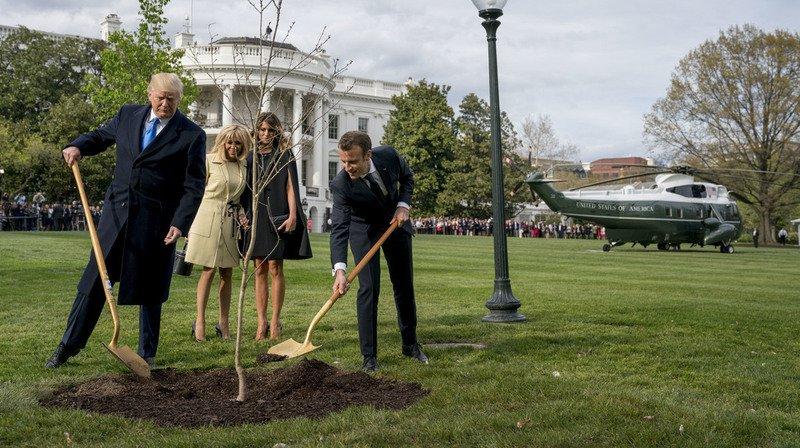 La plantation était chargée en symboles.