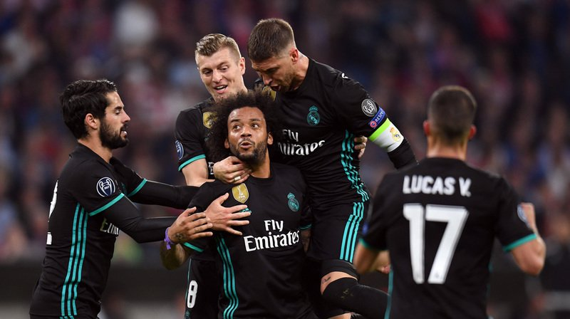 Marcelo avait égalisé pour le Real Madrid. Asensio a doublé la mise, donnant un important avantage aux Espagnols avant le retour.