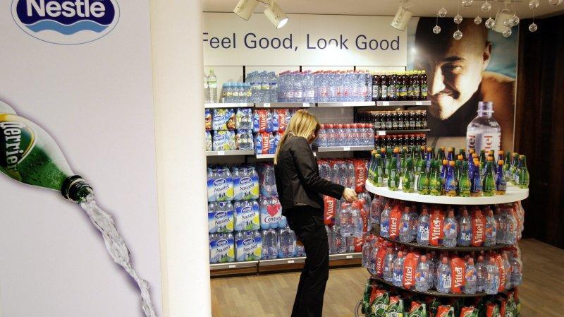 Nestlé Waters investit 25 millions de francs dans la production d'eau minérale.