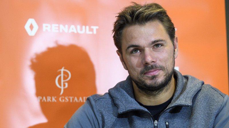 """""""C'est un des premiers tournois où j'ai eu de bons résultats"""" a déclaré Wawrinka, réjoui de son retour à Gstaad."""