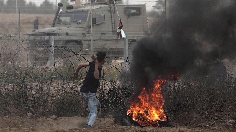 Proche-Orient: plus de 1'000 blessés à la frontière entre la Bande de Gaza et Israël