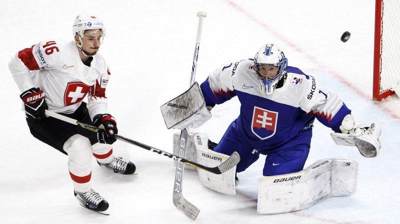 Hockey - Mondiaux 2018: la Suisse s'impose 2-0 face à la Slovaquie