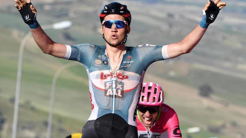 Tim Wellens remporte la quatrième étape du Giro, la première sur sol italien.