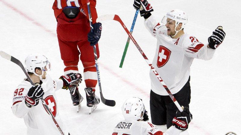 Hockey - Mondiaux 2018: la Suisse s'incline aux tirs au but face à la République tchèque