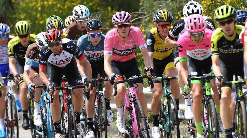 Cyclisme - Giro: Sam Bennett gagne au sprint la 7e étape du Tour d'Italie