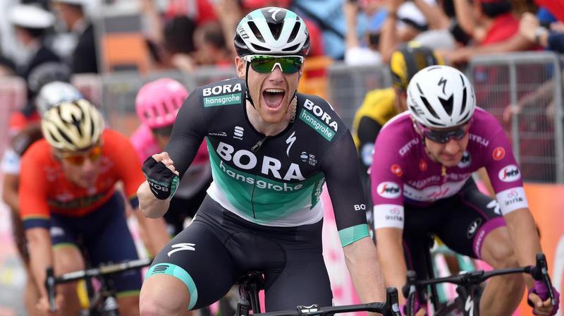 L'Irlandais a remporté au sprint la 12e étape du Tour d'Italie, qui se terminait sur le circuit automobile d'Imola.