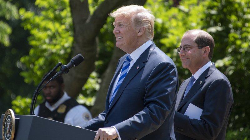 Etats-Unis: Trump annonce un programme pour réduire le prix des médicaments