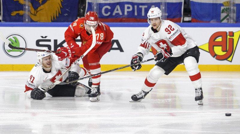 Hockey - Mondiaux 2018: la Suisse s'incline face à la Russie