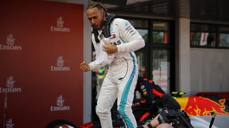 """Le Britannique de Mercedes espère avoir enfin pris un """"tournant""""."""