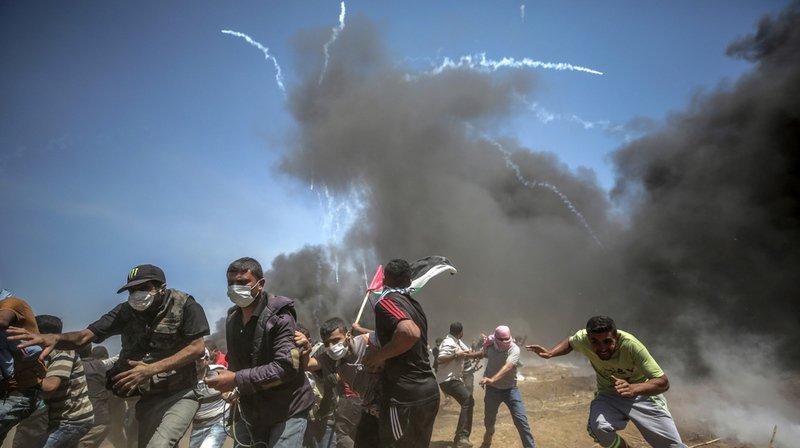 Suite aux heurts entre l'armée israélienne et les manifestants palestiniens qui ont fait plus de 60 morts parmi ces derniers, Washington a demandé à l'ONU une enquête sur les événements.