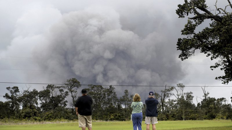 L'éruption du Kilauea a commencé le 30 avril.