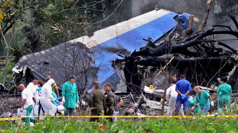 Cuba: le bilan du crash aérien à La Havane grimpe à 110 morts