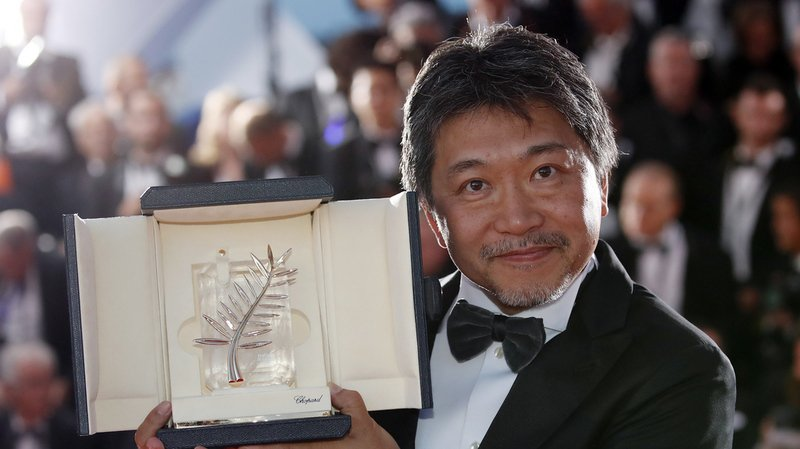 Le réalisateur japonais Hirokazu Kore-eda a obtenu la Palme d'or lors de la 71ème édition du Festival de Cannes.