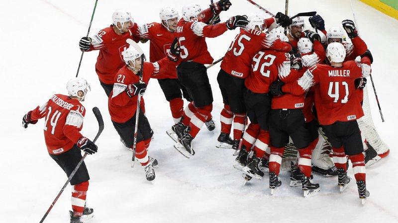 Grâce à son accession à la finale du Championnat du monde, l'équipe de Suisse a progressé au 7e rang du nouveau classement mondial.