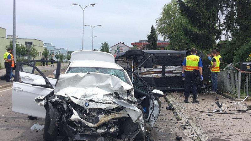 Thurgovie: une femme meurt dans une collision frontale  à Scherzingen (TG)