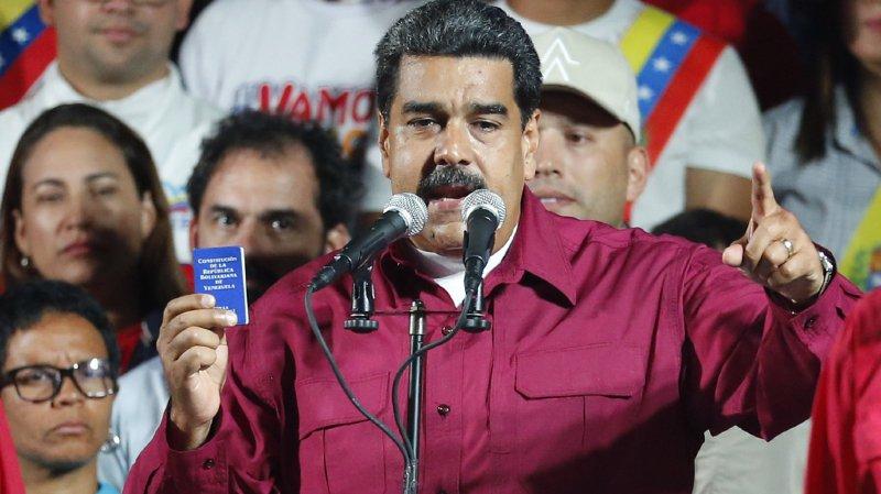 Le chef de l'Etat sortant du Venezuela Nicolás Maduro a été déclaré dimanche vainqueur de la présidentielle.
