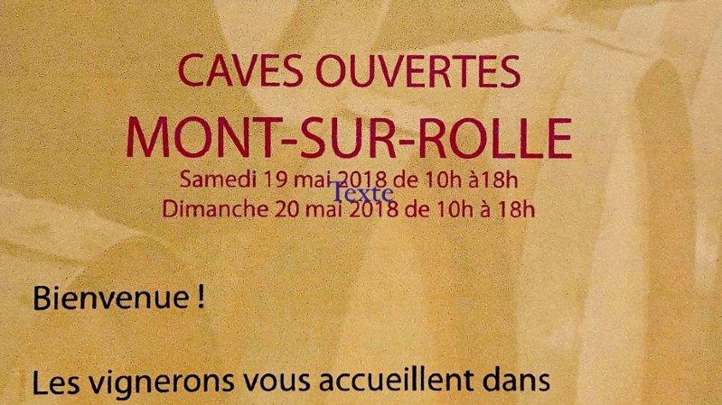 Caves Ouvertes à Mont-sur-Rolle
