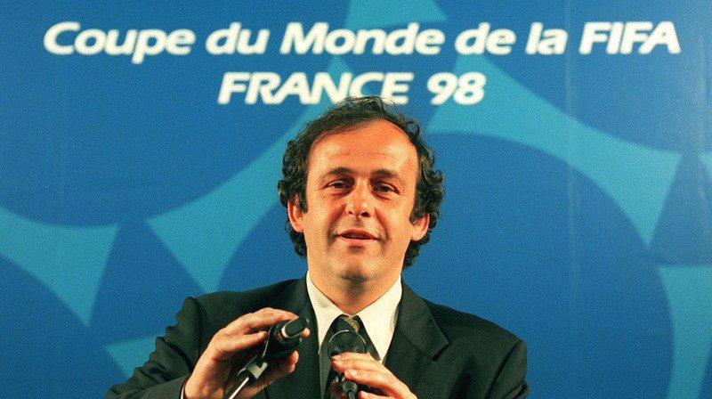 Michel Platini était à l'époque co-président du comité d'organisation du Mondial (archives).