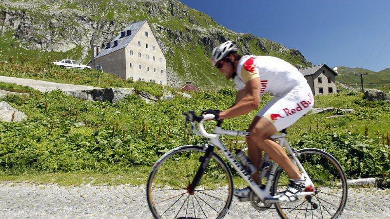 Le Col du Gothard sera lui aussi au menu des cyclistes amateurs.
