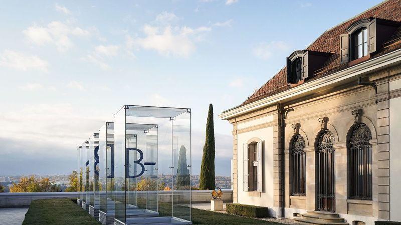 La Fondation Bodmer, à Cologny.