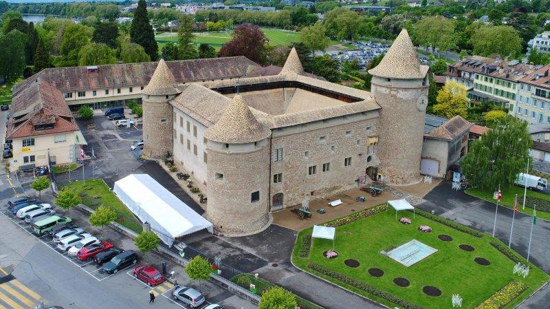 Le château de Morges est l'un des cinq musées qui participe à l'événement.