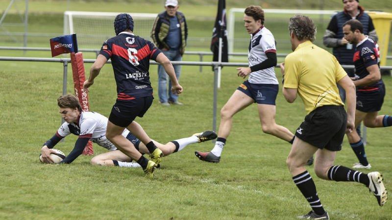 Le Nyon Rugby Club a fait le travail contre un LUC en reconstruction