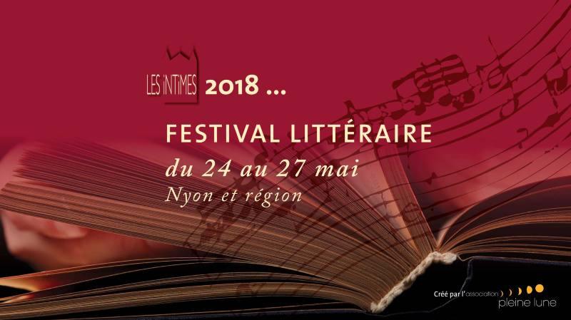 Les Intimes 2018 - Festival littéraire