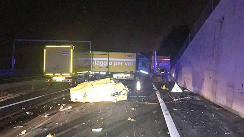Trafic: la situation sur l'autoroute A9 entre Chexbres et Belmont rétablie
