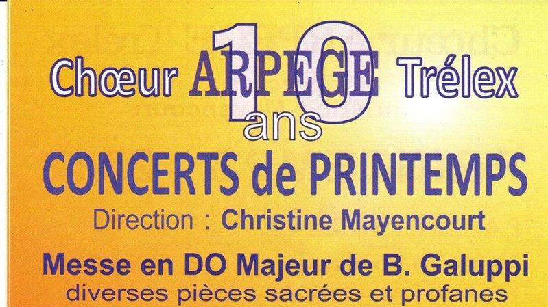 Choeur Arpège de Trélex, dir.Christine Mayencourt