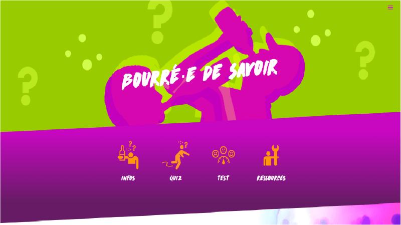 Prévention: l'association CIAO lance son site Bourré-edesavoir.ch pour parler d'alcool aux jeunes