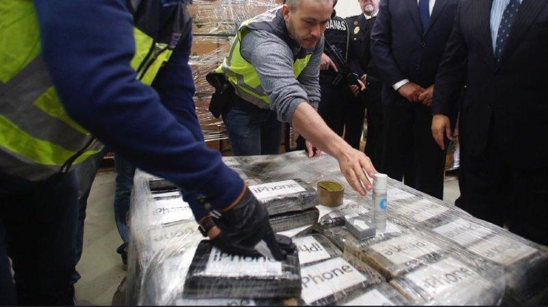 Espagne: saisie record de 9 tonnes de cocaïne dans le port d'Algésiras