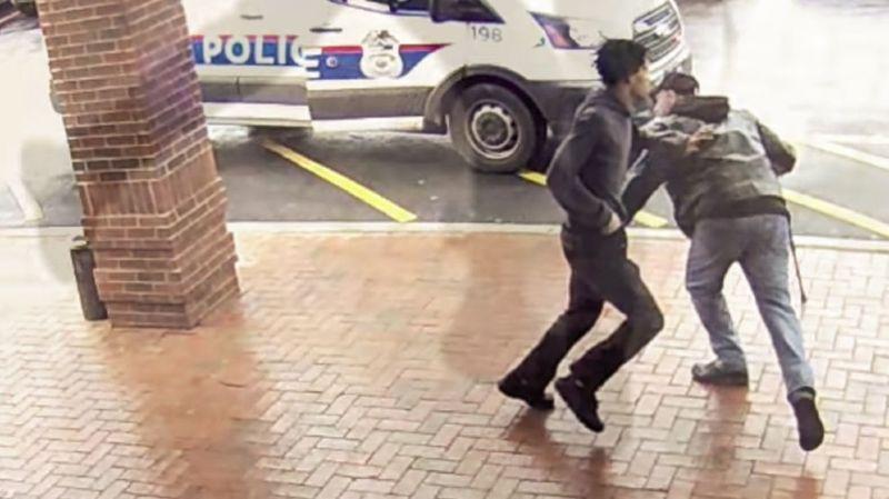 Un papy salué en héros pour son croche-pied sur un suspect armé