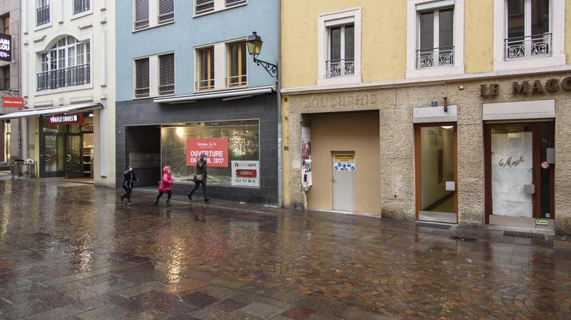 Situé à la rue de la Gare, Vögele Shoes va fermer définitivement.